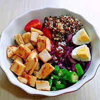 #520,美食撩动TA的心!#藜麦时蔬鸡胸沙拉的做法图解9