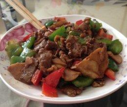 黑胡椒爆炒牛肉杏鲍菇的做法