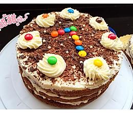 黑森林巧克力蛋糕8寸的做法