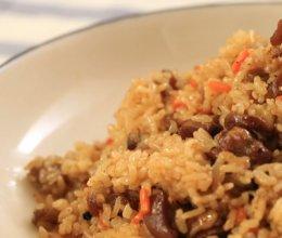 迷迭香—羊肉手抓饭的做法