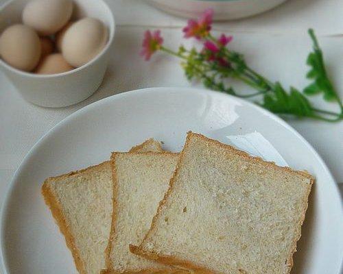 营养早饭的开始——土司的做法