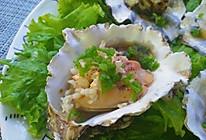 蒜烤海蛎子(烤箱)的做法