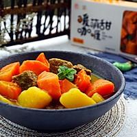 咖喱牛肉炖土豆#安记咖喱慢享菜#