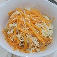 胡萝卜拌金针菇的做法图解10