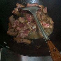 牛肉炖青菜的做法图解2