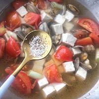 西红柿蛤蜊豆腐汤的做法图解10