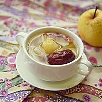 温补润燥——红枣百合雪梨糖水的做法图解7
