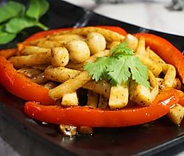 黑胡椒炒菇的做法