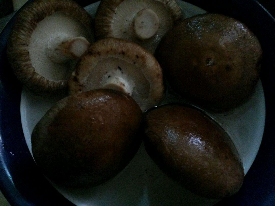 冬菇镶鱼饼的做法图解1