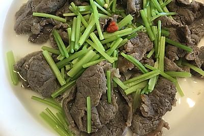 花椒清水煮牛肉