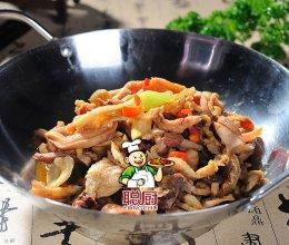 中国大厨最新特色菜之聪厨房干锅羊杂的做法
