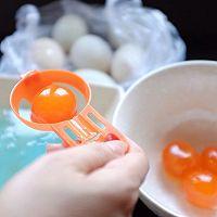 白莲蓉蛋黄酥的做法图解1