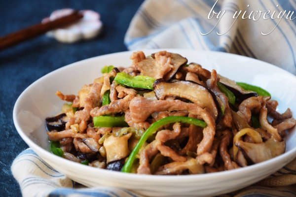 下饭菜香菇榨菜肉丝的做法