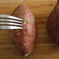 风味烤红薯#美的烤箱菜谱#的做法图解2
