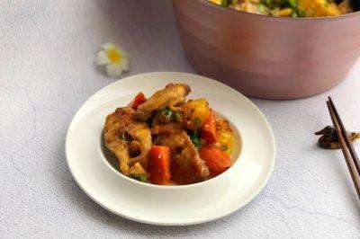 大杂烩焖锅,懒人菜