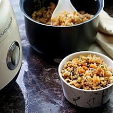 香菇菜虾仁焖饭