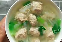 暖心又暖胃的宝宝辅食:萝卜肉丸汤的做法