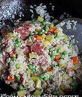 什锦豌豆糯米饭的做法图解11