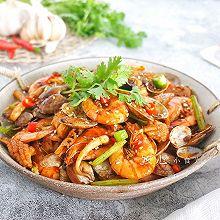 #一人一道拿手菜#海鲜麻辣香锅