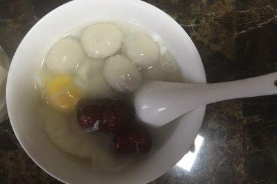 甜酒汤圆蛋