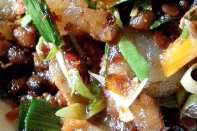蒜苗炒肉(回锅肉)