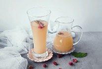 玫瑰桃汁的做法
