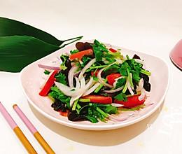 #花10分钟,做一道菜!#快手凉拌杂蔬的做法
