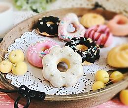 七夕甜甜圈蛋糕早餐 附星空糖霜方法#让爱不负好食光#的做法