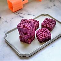 紫薯燕麦月饼的做法图解12