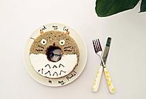 龙猫黑芝麻戚风蛋糕的做法