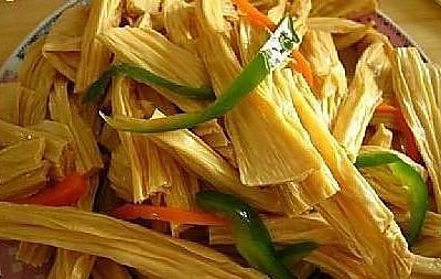 传统美食-自制腐竹