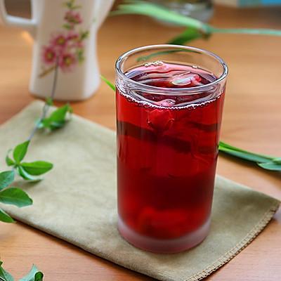洛神花玫瑰枸杞茶