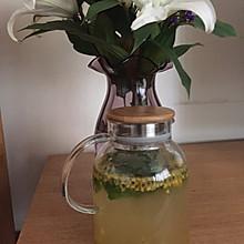 百香果柠檬薄荷蜂蜜茶