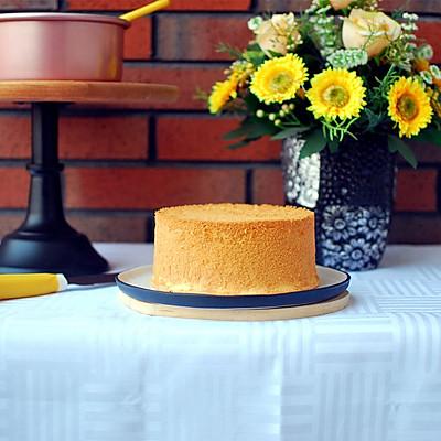 6寸戚风蛋糕——成功率超高的配方