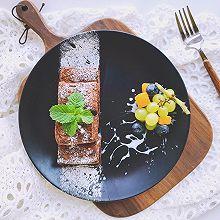 巧克力砖块—吐司三明治#秋天怎么吃#