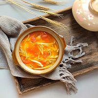 鲜美开胃: 风味西红柿杂菇汤的做法图解15