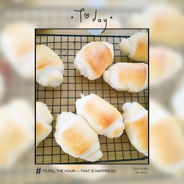原味面包卷的做法