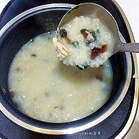皮蛋瘦肉粥#铁釜烧饭就是香#的做法图解7