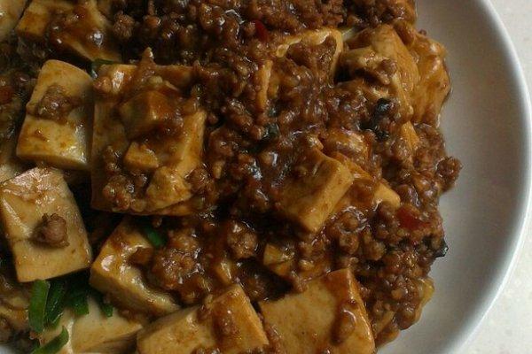 麻辣肉末豆腐的做法