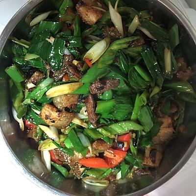 蒜苗回锅肉的做法 步骤7