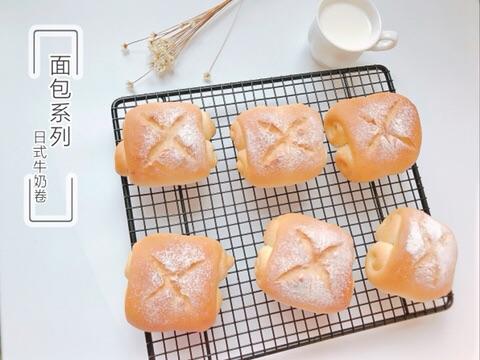 北海道牛奶卷的做法