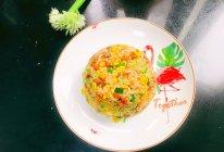 海胆虾仁叉烧肉炒饭