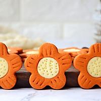 太阳花芝士饼干#柏翠辅食节-烘焙零食#