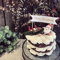 圣诞老人可可裸蛋糕