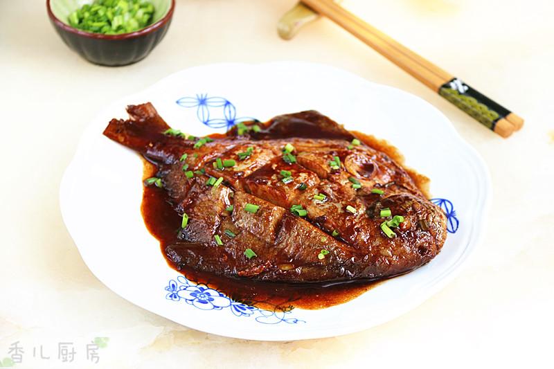 红烧美食#宴客拿手菜#的做法_菜谱_豆果鲳鱼鸡胗能炒红萝卜吗图片