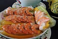 鲜虾芒果越式春卷的做法