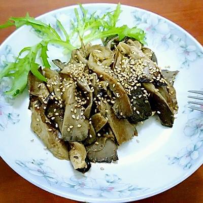 减肥快手菜之美味烤平菇