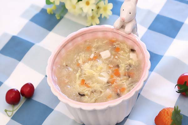 宝宝辅食微课堂  鸡肝杂蔬羹的做法