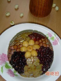 八宝饭的做法 八宝饭怎么做好吃 洛库洛库分享的八宝饭的...
