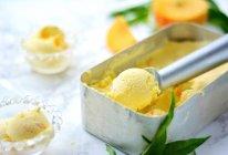 小清新的黄桃酸奶冰淇淋(无蛋黄版)的做法